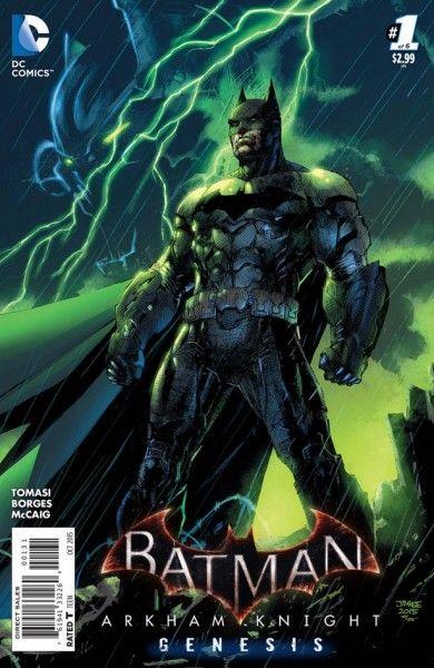 BATMAN EL CABALLERO OSCURO: BATMAN ARKHAM KNIGHT: GENESIS  6/6