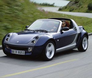 Smart Roadster! This is my favorite car, they are adorable!
