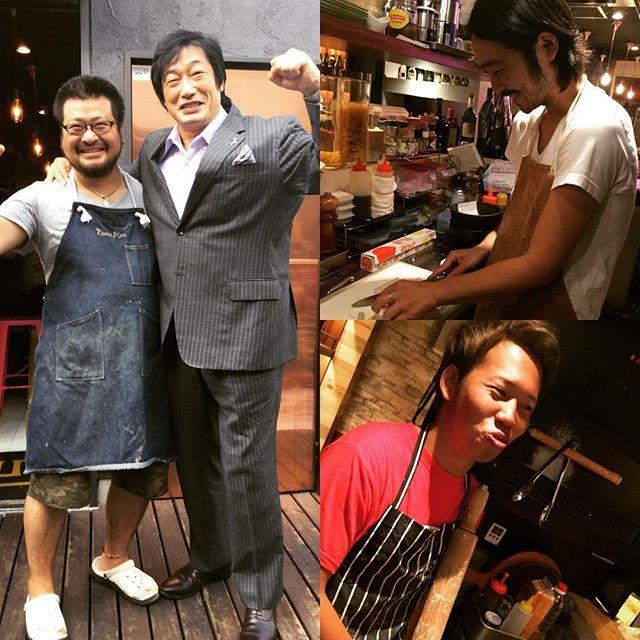 こんばんは🤗今日はなんと!Mr.プロレスこと小橋 健太様にご来店頂きました‼️‼️‼️とても気さくに対応して頂き、快く写真撮影までして下さいました♡以上、自慢話でした😜 皆様のご来店お待ちしてます!! P.Sスタッフが沖縄旅行から帰ってきましたが黒くてみえませんでした…  cona #ワンコインピザ #pizza #ピザ #🍕#イタリアンバル #500円 @cona_kokubunji #kotan #炭火焼 #肉 #🍖 #黒毛和牛 @sumibikitchenkotan  #ビアガーデン #浜焼きビアガーデン #浜焼き #牡蠣  #ランチ #ディナー #誕生日 #記念日 #国分寺