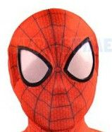 Ultimate Spiderman Costume 3D Shade Spandex Cosplay Halloween Spider-man Superhero Costume 2016 Newest Fullbody Zentai Suit