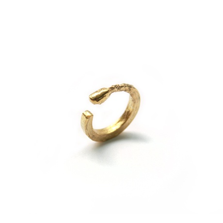 Claire English Matchstick Ring Yellow Gold now featured on Fab.