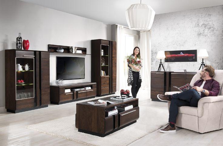 Jak salon, to tylko z kolekcji Porti #meble #salon #zainspirujsie #inspiracja #szynaka #inspiration #livingroom