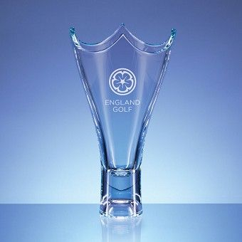 """The Unique & Elegant """"Ascot """" Trophy Vase Approx Height 36cm Includes your choice of engraving whether it is for an existing golf club or corporate logo or your own chosen wording. Engraved in one position"""