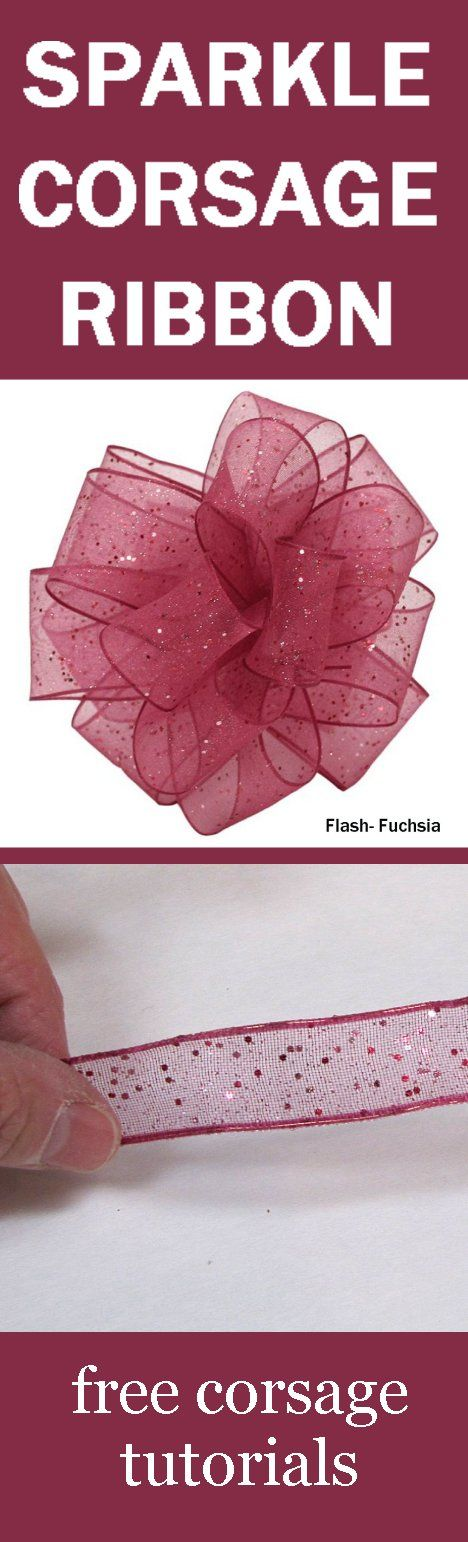 Wholesale Ribbon - Corsage and Bouquet Ribbon for Weddings and Prom -  Learn how to make bridal bouquets, corsages, boutonnieres, centerpieces and church decorations.  Buy wholesale flowers and discount florist supplies.