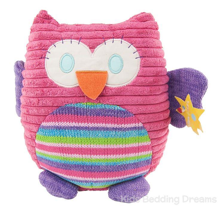 Pink Owl Cushion