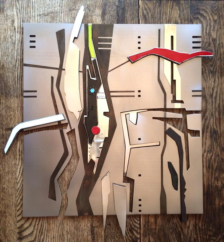 Pewter, enameling and mild steel - Journal Entry i