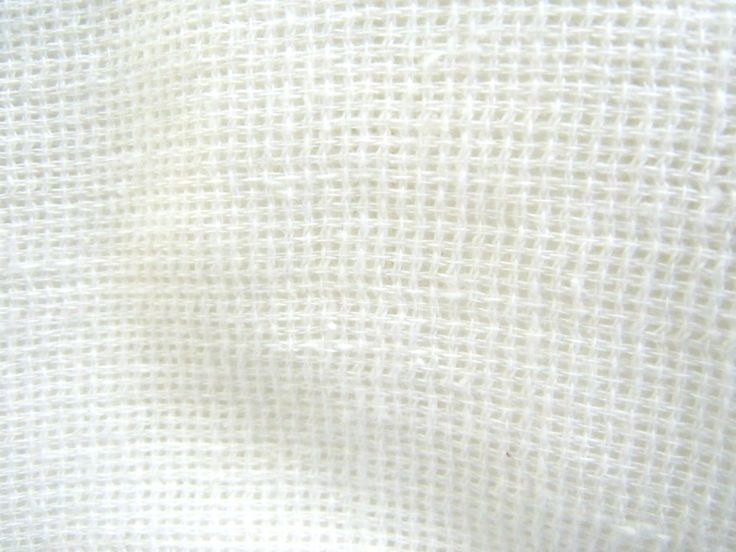 White Gauze Fabric White Open Weave Fabric White Loose