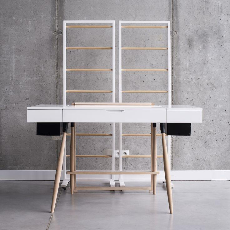 desk concept   HomeOffice   Design, architektura i architektura wnętrz   Wrocław   troomono   fot.Agata Piatkowska