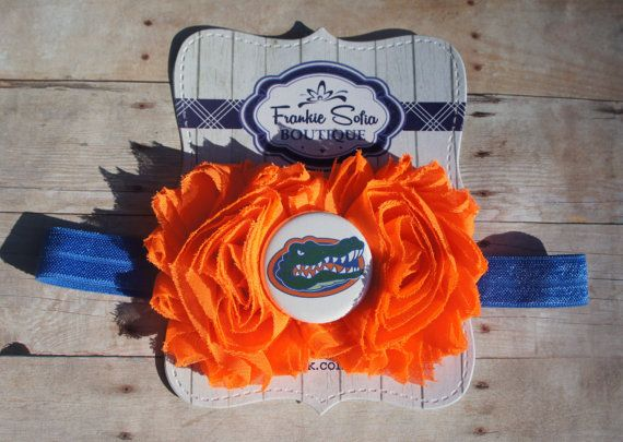Florida Gators baby headband Baby HeadbandsNewborn by