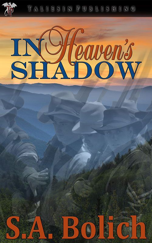 In Heaven's Shadow by S. A. Bolich. Lilith Stark knows from experience that dead doesn't necessarily mean gone. Gettysburg took Joab's life, but her husband struck a bargain with Heaven to come home instead. The bereaved mother of the ghost living in Lilith's barn helps turn the whole town against her. Lilith will either get the town to accept her—magic, ghosts, and all—or find herself locked away as a madwoman, deprived of everything that makes her life worthwhile.