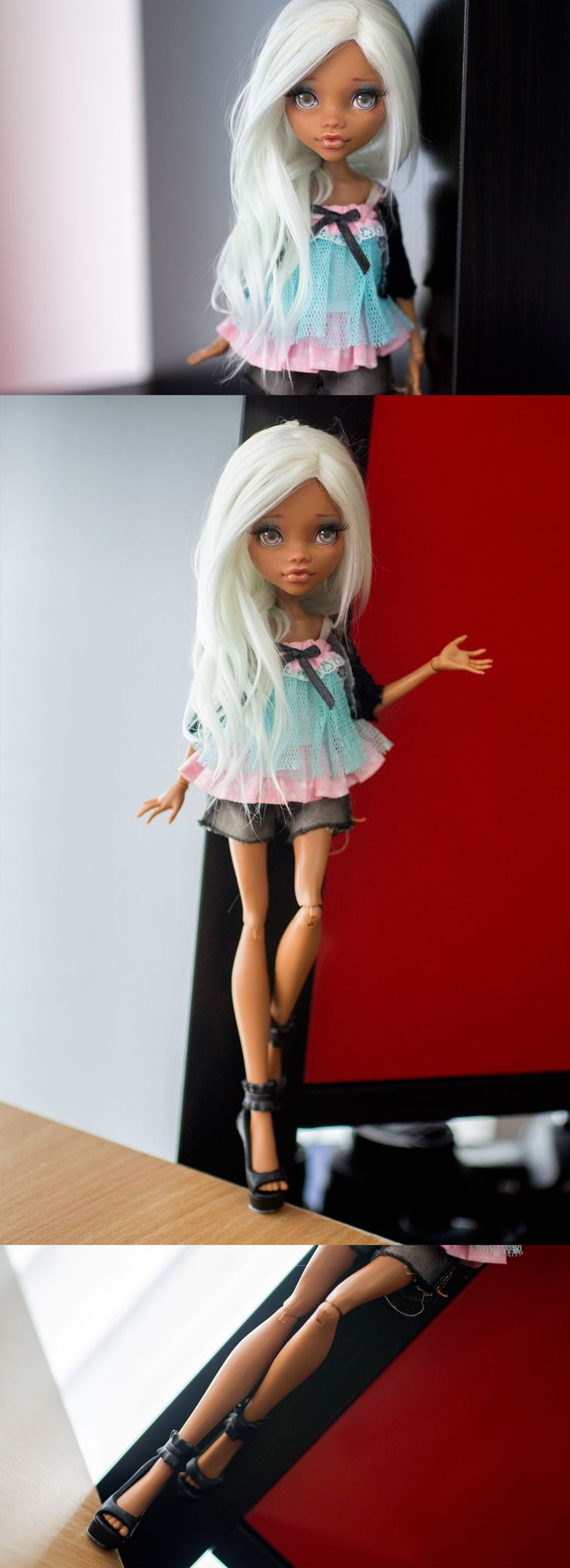Ooak Monster High Clawdeen BY Andreja AKA Nicolle'S Dreams | eBay