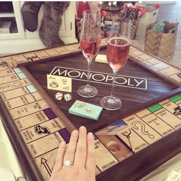He Designed The Most Brilliant Monopoly Board To Propose His Friend Best Marriage