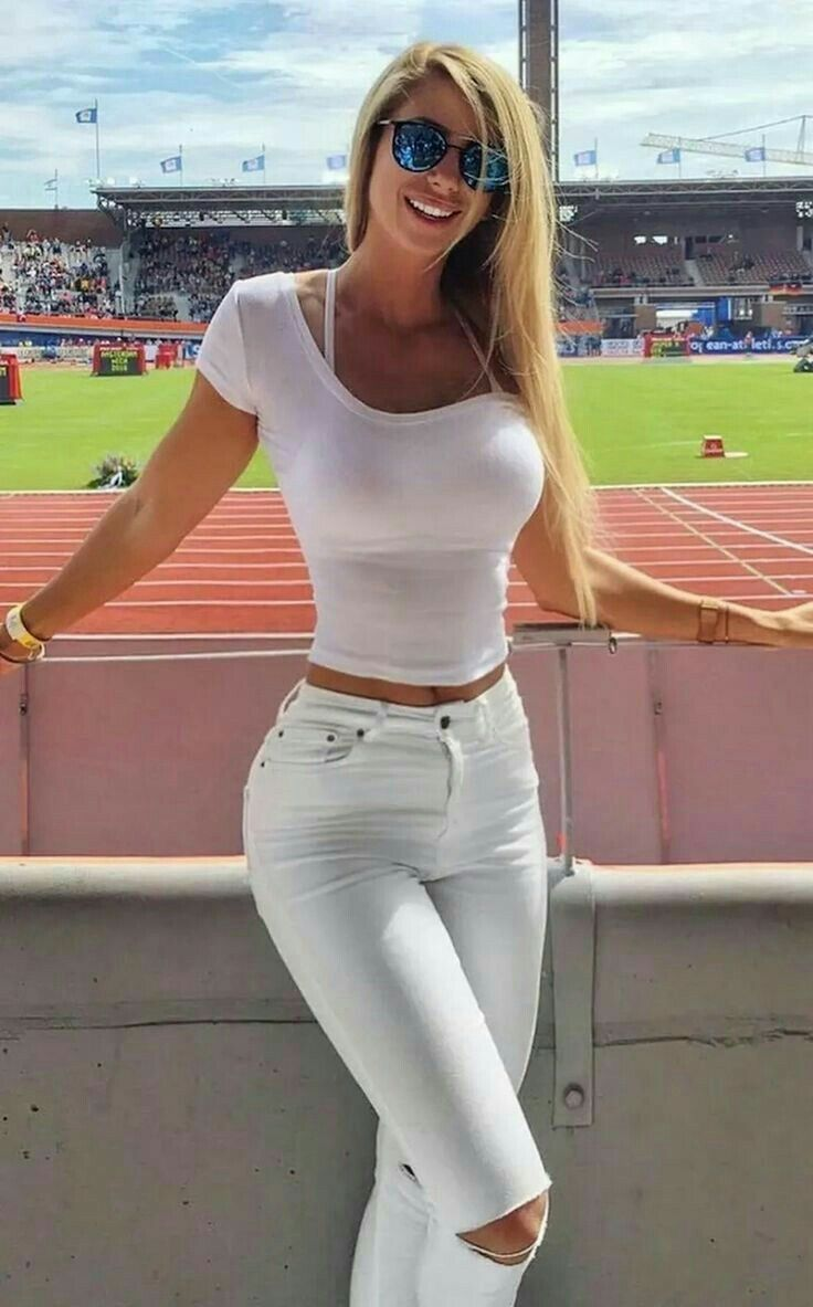 9c144fe1e687 Wow, nice everywhere | Pretty in 2019 | Sexy, Jeans, White outfits