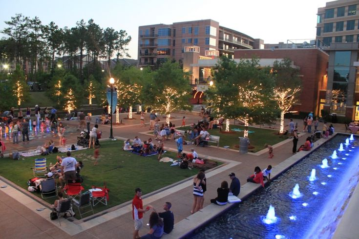 Waterway Square in The Woodlands, TX