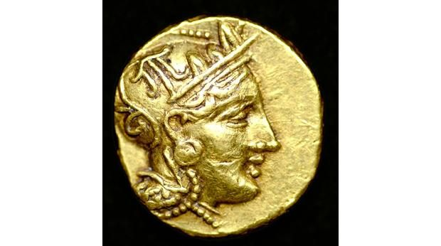 BBC - A History of the World - Object : Rare gold coin of Athens
