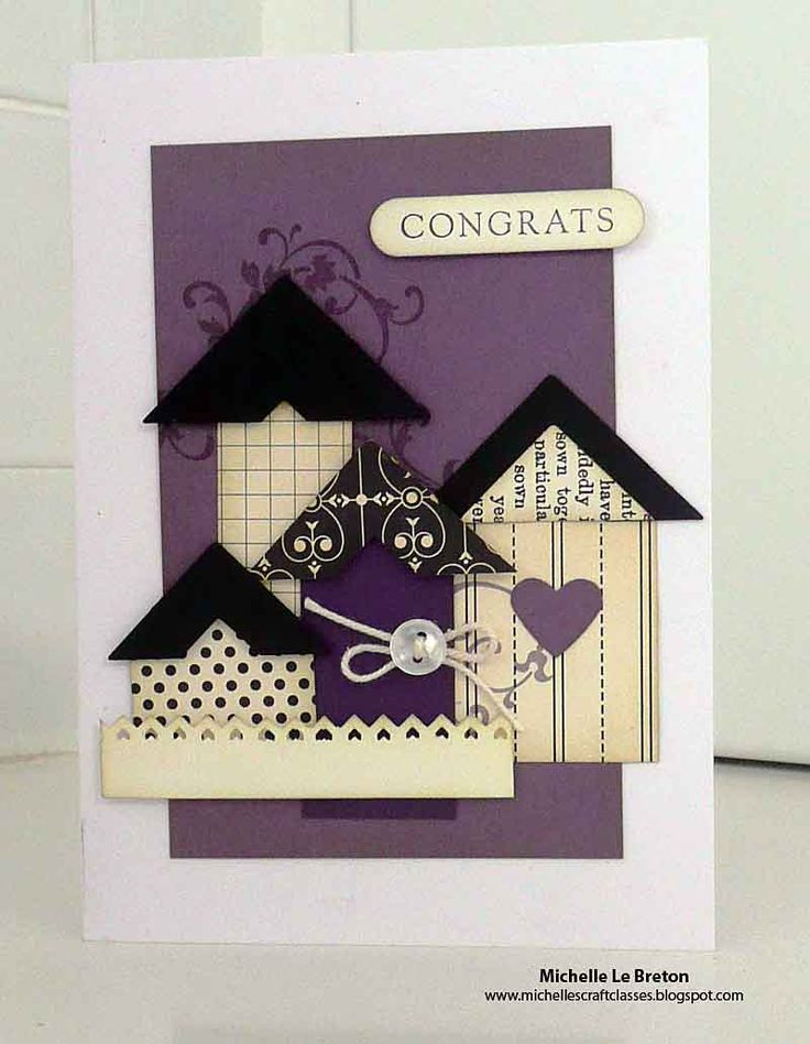 Michelles card classes  Around the home Class Samples46 best Cards New Home images on Pinterest   New home cards  House  . Home Design Card. Home Design Ideas
