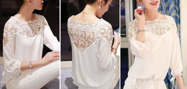 Patrón para hacer unaespectacular pero sencilla blusa con manga ranglán. Tallas del esquema desde la 36 hasta la 56.