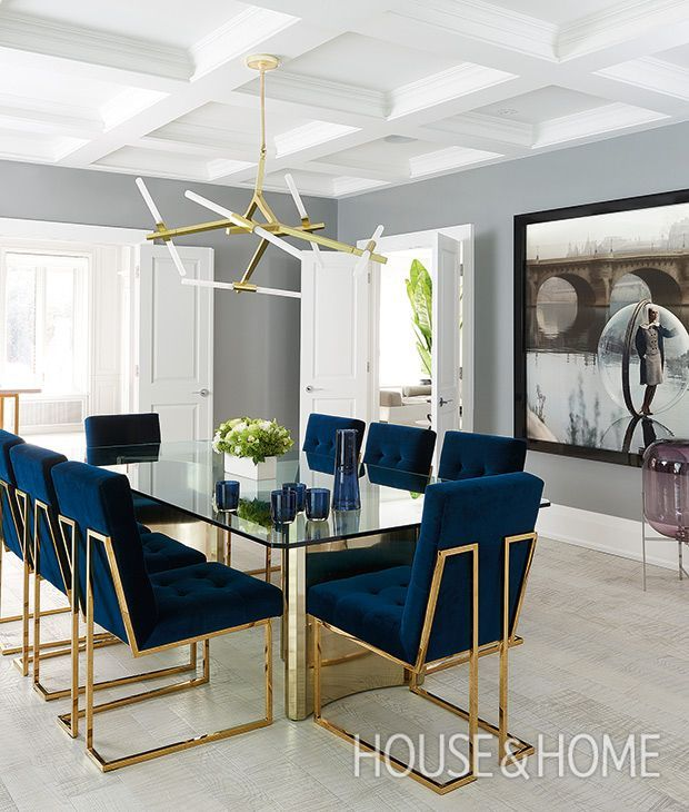 10 Velvet Decorating Ideas For A Luxurious Look Luxury Dining Room Dining Room Design Luxury Dining #royal #blue #living #room #furniture