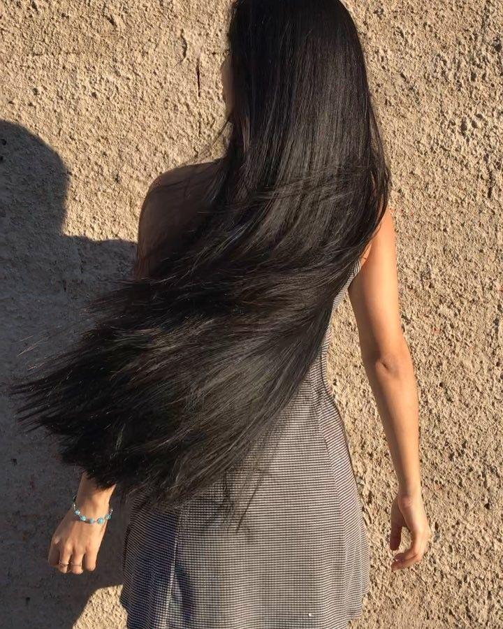 Theskah Oliveira On Instagram Achei Perdido Videozinho De Um 1 Dia Depois Q Cortei As Pontinhas Do Meu Cab Long Hair Video Hair Styles Beautiful Long Hair
