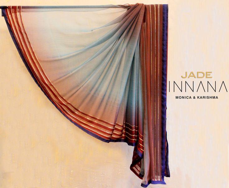 Stylish sophistication! #INNANAbyMK #sari #classic #style