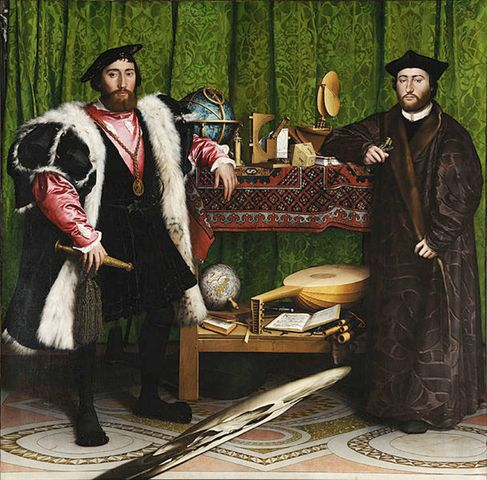 Hans Holbein the Younger  The Ambassadors  1533  National Gallery, London