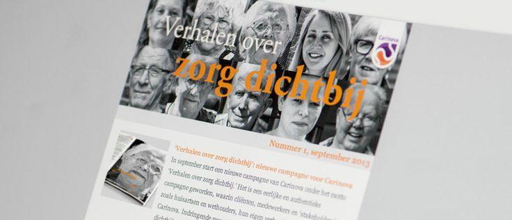 Projectmanagement / Communicatieadvies - (klant Carinova) Communicatiebureau Youniq
