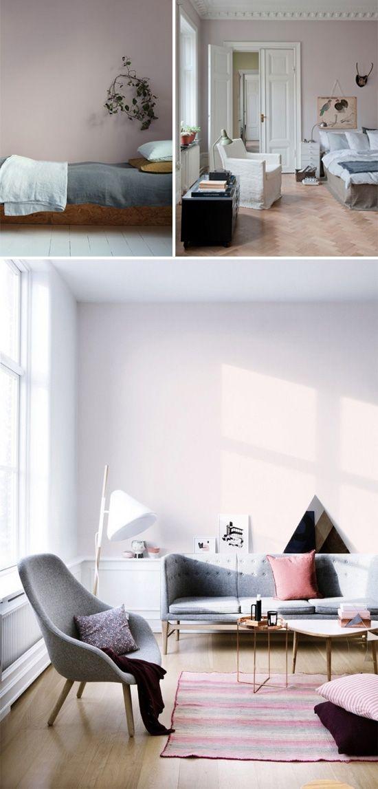 Light pink walls I Interier I Notranja oprema I Dnevna soba I LIVING