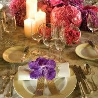 Wedding set up by Jeff Leatham...