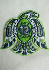 Seattle Seahawks #12 Logo Iron/Sew On Patch
