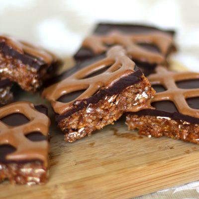 healthy peanut butter krispy treats