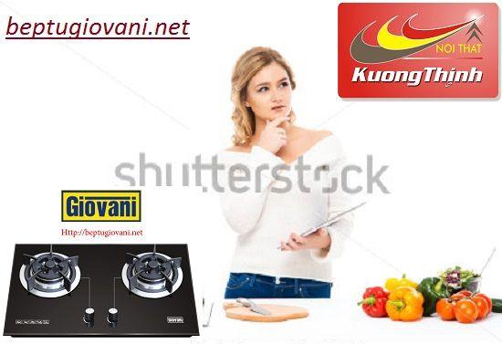 Đại lý cung cấp bếp ga Giovani uy tín