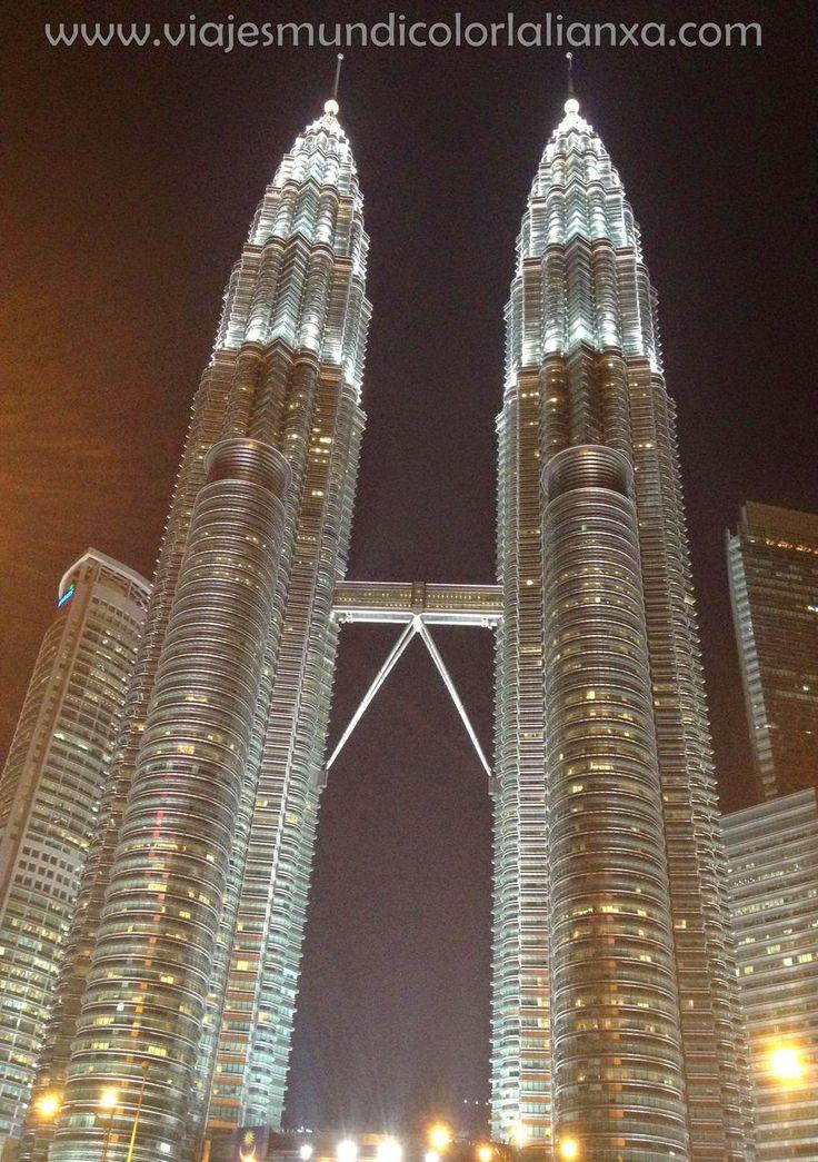 Las Torres Petronas en Kuala Lumpur, Malasia.