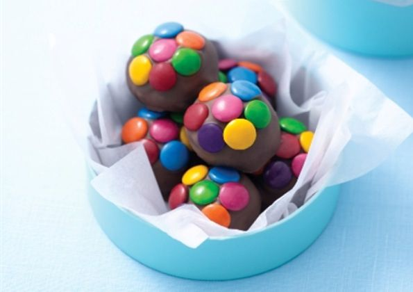 Smartie Cake Balls