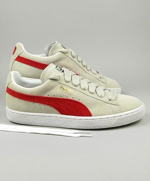 online retailer bd6c4 e9704 puma suede red white