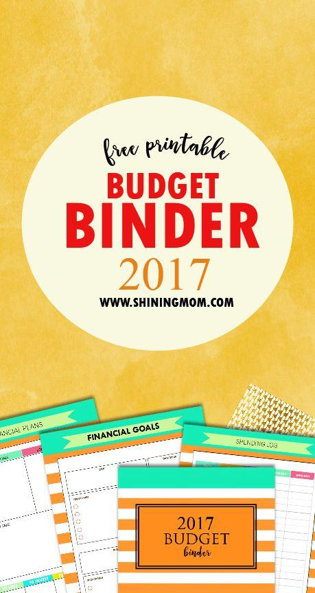 SAVE And INVEST: 2017 Free Budget Binder! Budget WorksheetsPrintable ...