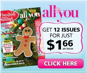 All You Magazine Deal: 12 Issues for $1.66 per magazine - http://www.livingrichwithcoupons.com/2014/01/magazine-deal-12-issues-1-66-per-magazine.html