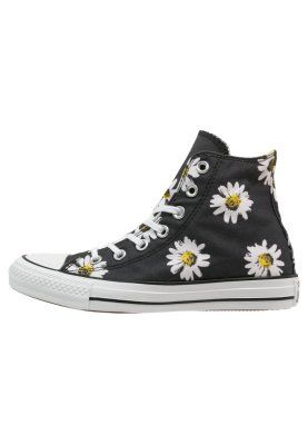 CHUCK TAYLOR ALL STAR - Sneakers alte - black/citrus