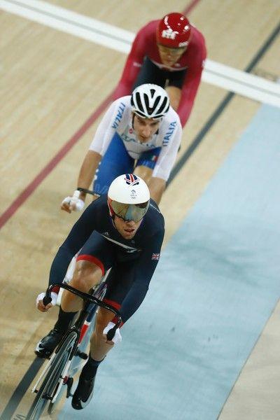 Men's Omnium Points race Rio 2016 Olympic Games 2016 / AFP