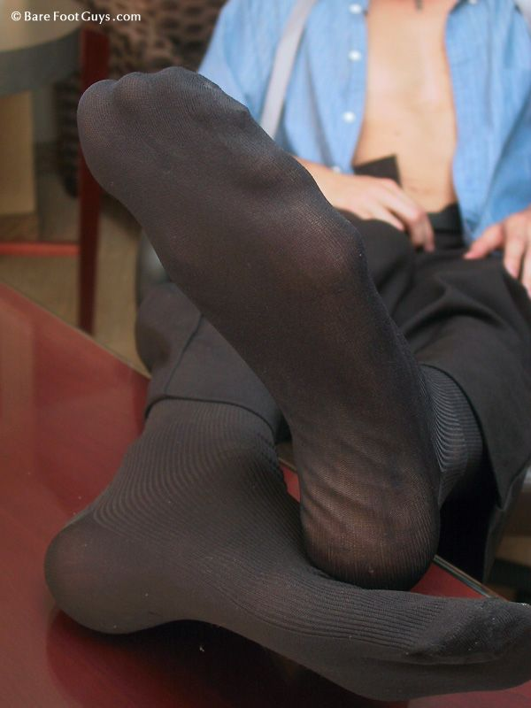 Nylon Socks Fetish 6