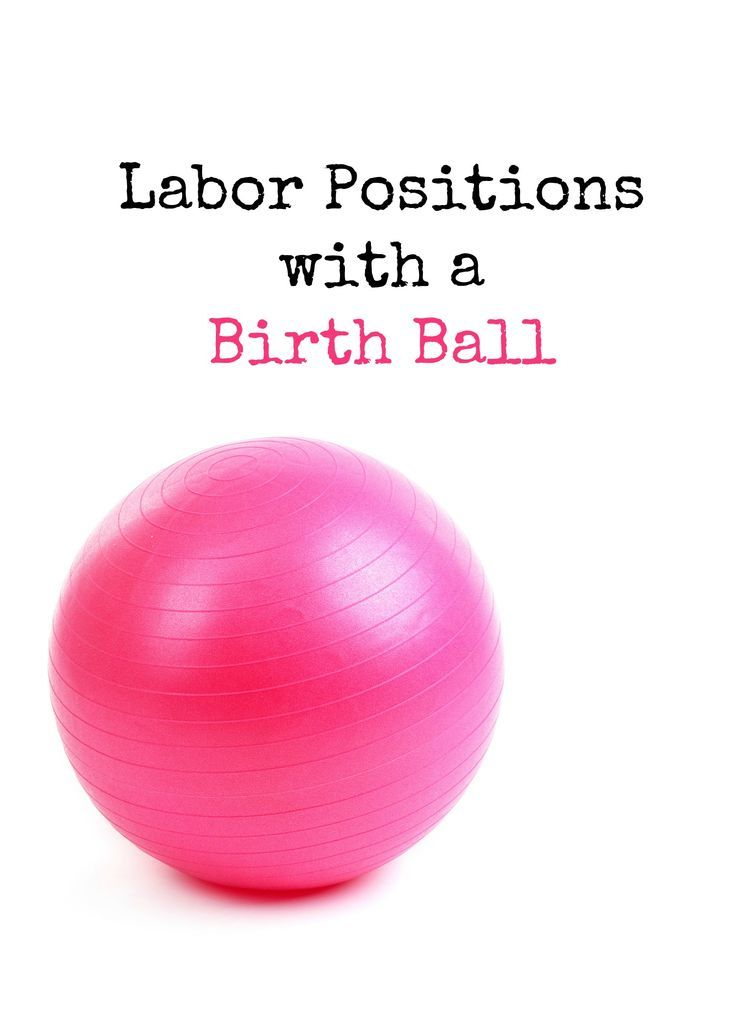 Using a birth ball in labor can feel so comfortable. Here are a few different ways to use it for your next labor and birth.