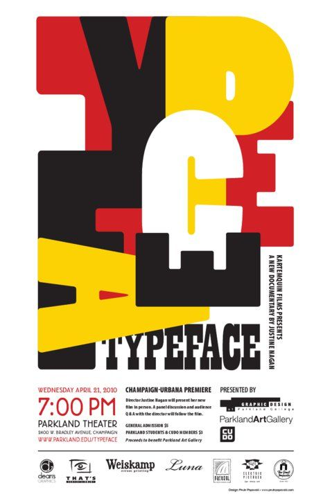 Typeface movie poster