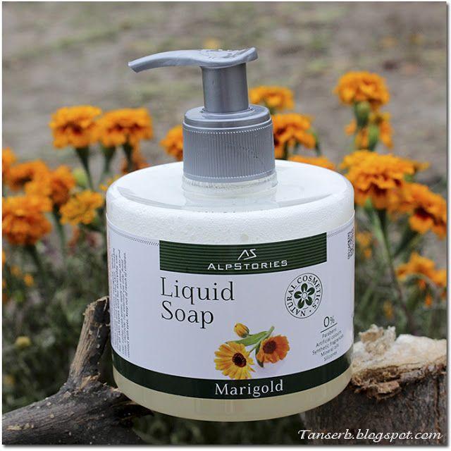 Жидкое мыло для рук AlpStories календула