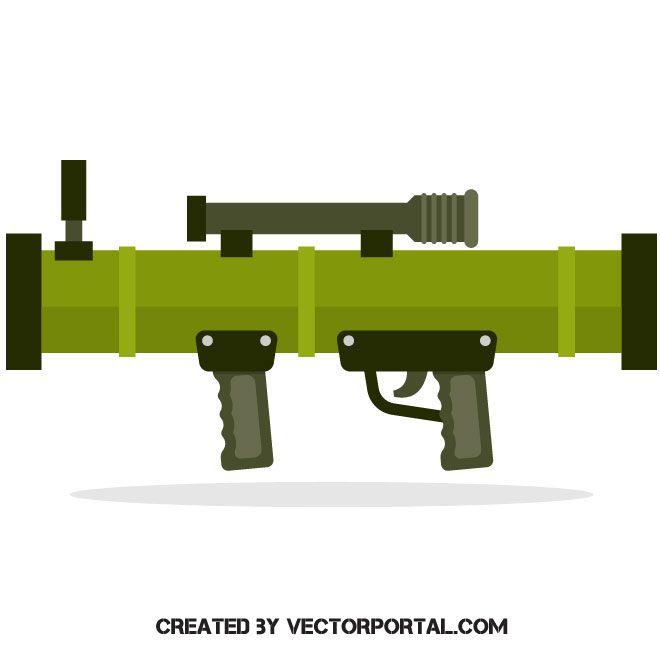 Bazooka Vector Image Bazooka Vector Images Vector