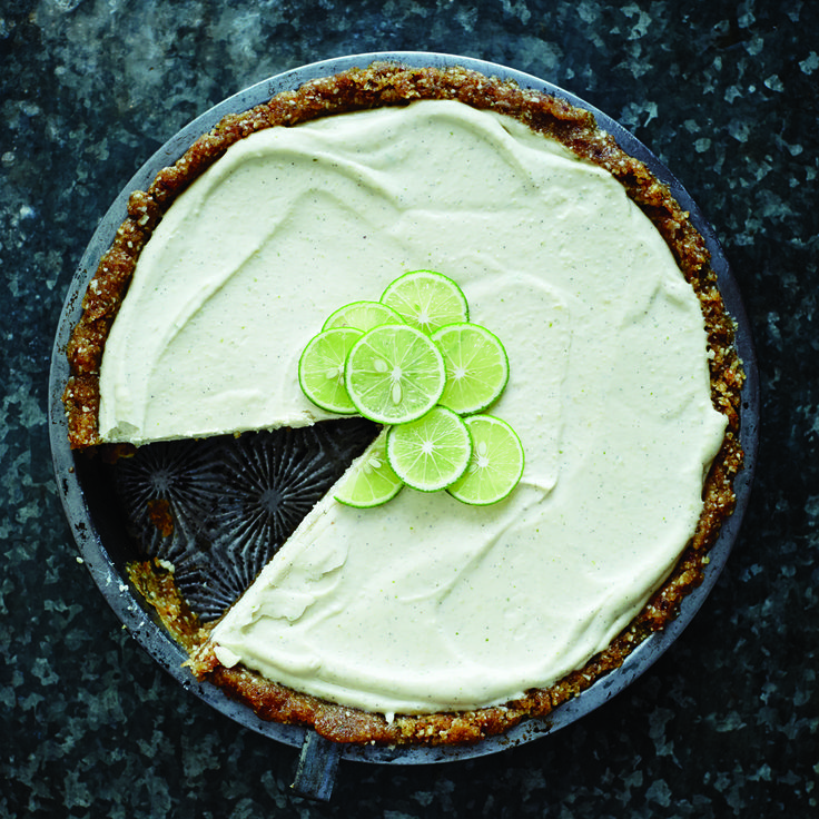 No-Bake Vegan Key Lime Pie - mindbodygreen.com