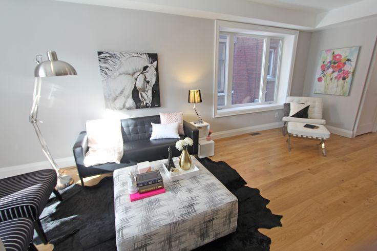For sale, 563 St Clarens Ave, Toronto, real estate, Bloordale Village, 3 bedroom, 4 bathroom, home, cedar, brick, living room