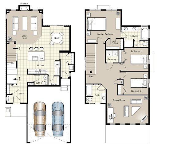House Plans With Butlers Pantry The Room Floor Plans I