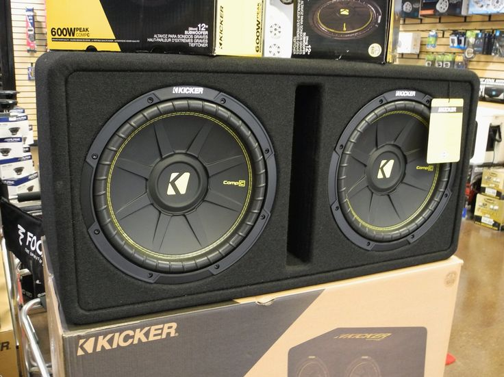 Save big on the new-for-2017 Kicker CompC dual 12-inch loaded enclosures! These sturdy ported enclosures were engineered specifically for the CompC subwoofer driver and feature thick MDF construction covered with carpet, so they look great and sound amazing! And while supplies last, through June 30, 2017, they are on sale for only $299.99! That's a $40 savings! Stop by any of our four locations (California Custom Sounds Beavercreek, California Custom Sounds West Carrollton/Moraine…