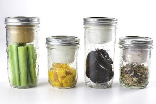 BNTO:  Turn a Canning Jar into a Lunchbox