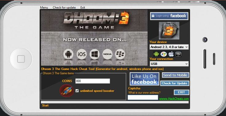 Dhoom 3 The Game Hack Cheat Tool [Generator for android, windows phone and ios] http://www.hackcheatz.com/dhoom-3-the-game-hack-cheat-tool-generator-for-android-windows-phone-and-ios/ http://softwarelint.com/