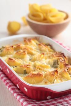 Conchiglioni ripieni al forno http://www.gustissimo.it/ricette/gnocchi/conchiglioni-ripieni-al-forno.htm